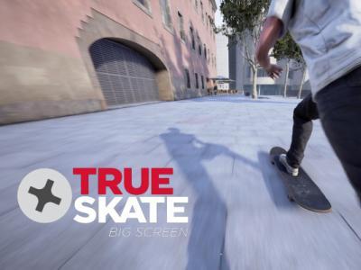 最热门滑板手游「True Skate」即将升级,大屏幕真实滑板游戏