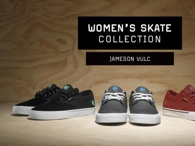 Etines James Vulc,为女性量身打造的滑板鞋