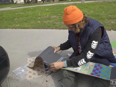 MOB:Franky Villani教你如何贴出个性化的砂纸