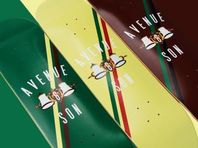 Avenue&Son 17年新款CLASSIC 系列板面现已正式开始发售