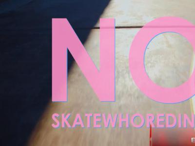 老司机带你开滑板车,限制级影片「No Skatewhoreding」!