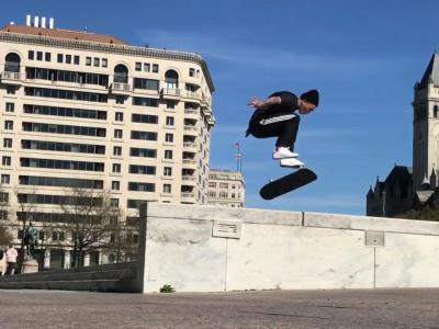Visual滑板队首个Tour:Joey Brezinski带大家一起玩转华盛顿
