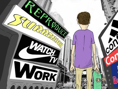 【滑板废观点】滑手们是怎么看待滑板品牌的营销方式?!