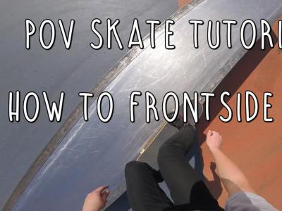 第一视角滑板教学:如何轻松学会Fs 5050