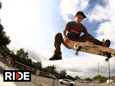 Daymien Hertenstein:在荒废的小镇中心DIY滑板