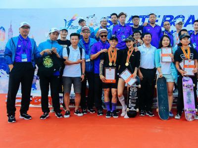 2017全国滑板锦标赛暨全运会滑板项目预选赛-街式组成绩出炉
