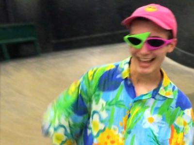 小骚哥Roy Purdy最新Berrics板场跳舞滑板