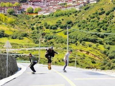 奥地利红牛:从成都到拉萨的中国滑板之旅第一集
