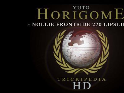 Yuto Horigome的动作示范:Nollie Frontside 270 Lipslide