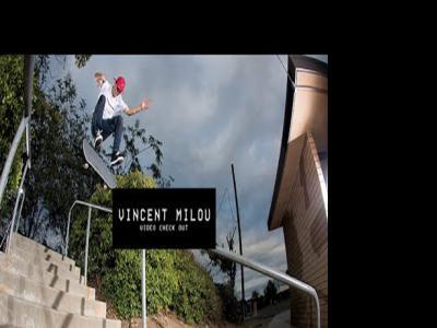 法国年轻滑手Vincent Milou发布个人视频