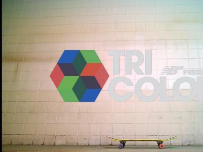 New Balance Numeric:最新大片「Tricolor」