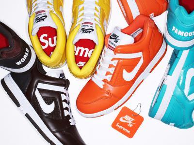 Supreme正式发布合作款Nike SB Air Force 2