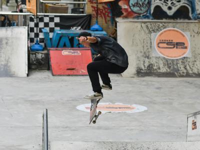 CSP全国滑板联赛武汉站:季军刘宝明