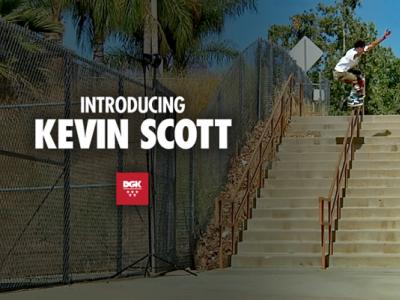 18岁滑手Kevin Scott正式加入DGK,成为未来新力量代表!