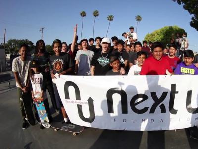 NEXT UP基金会,一个通过滑板改变孩子们黑暗人生的公益组织