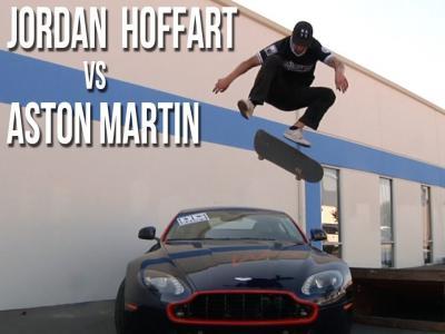 狠货Jordan Hoffart Fronstide Flip飞跃百万级阿斯顿马丁!