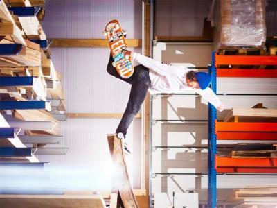 奥地利红牛:每一个滑手都梦寐以求的滑板仓库!
