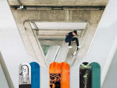 职业滑手王汇丰个人滑板品牌「BOARDHEAD」#001正式推出