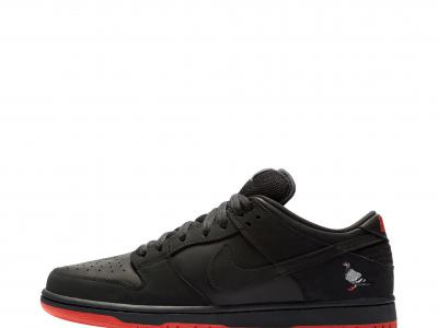Nike SB Dunk Low黑鸽:让鸽子本身来讲述这款设计的故事