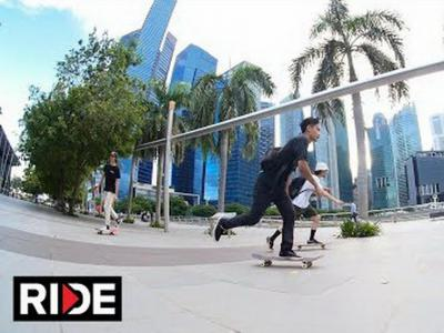 Firdaus Rahman与Alex Soikkeli带你感受新加坡的滑板氛围