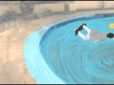 【滑板文艺】把滑板动作转化为印象派动画的Matt Wohlrab