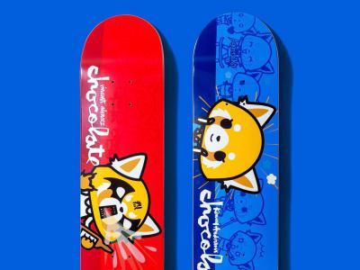 Chocolate X 日本卡通人物「冲吧烈子」超萌合作款板面
