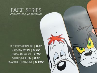 Almost最新「Face」系列板面上市,带你找回童年的回忆!