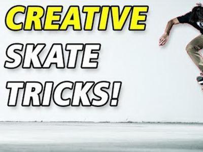 脑洞大开,最有创意的滑板动作合辑!