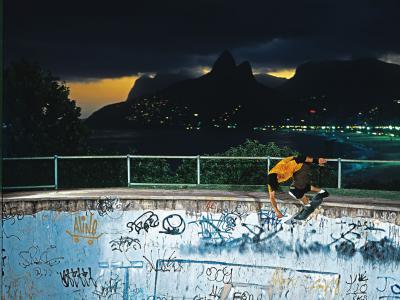 【盘问】世界冠军Bob Burnquist,巴西滑手弹跳力强原因竟然是