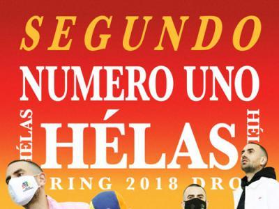 Helas:SPR18 SEGUNDO NUMERO UNO新品周三开售