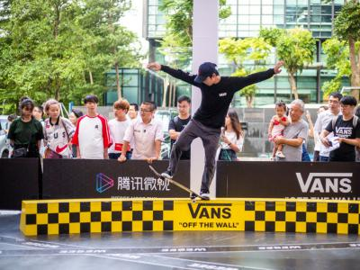Vans明星滑手空降腾讯总部,腾讯微视带你开启滑板日预热!