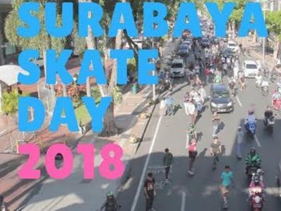 追踪世界滑板日各地活动盛况!第一站:Surabaya(泗水)