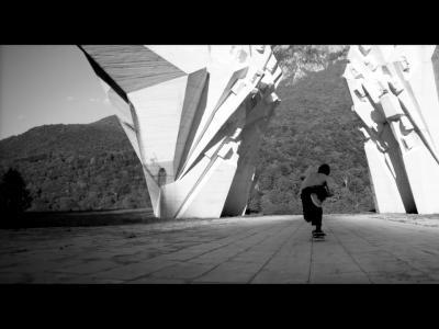 【滑板文艺】单色概念性滑板影片「TEMPLE」,尊崇与信仰!