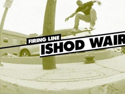 早起看片!天赋滑手Ishod Wair开启超燃Line
