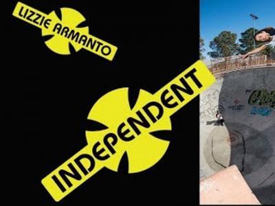 INDEPEDENT Trucks发布女神Lizzie Armanto碗池小片段