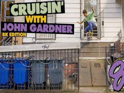 OJ Wheels创意宣传影片:John Gardner带你滑翻布鲁克林!
