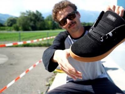 鞋款测试!Jonny Giger用Chris Joslin新款签名鞋做100个kickflip