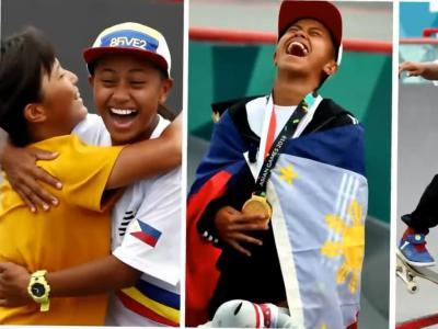 [中文字幕]菲律宾追梦滑板女孩Margielyn,亚运会夺冠给妈买房