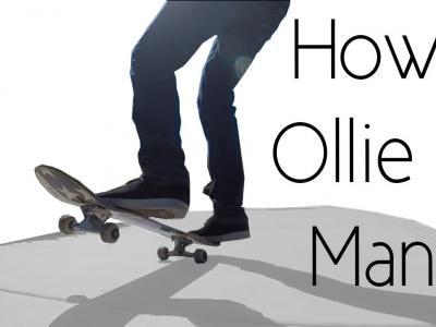 [中文字幕]新手福音:如何学会Ollie接Manual,打开新世界大门