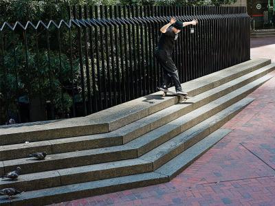 旧金山滑板组织GX1000最新影片「Roll Up」正式发布!
