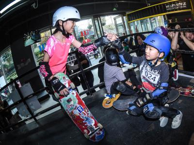 见证新生代力量!2018上海城市业余联赛滑板项目总决赛赛场