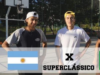 巴西 vs 阿根廷!超级经典三人 Game of Skate