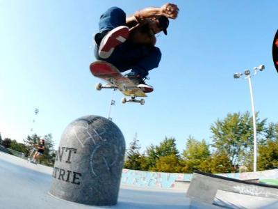 DC滑板队天团级阵容作客「Skatepark Round-Up」栏目
