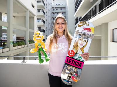巴西女神Leticia Bufoni 正式被委任为国际滑联运动员代表