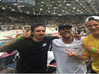 巴西滑板双雄:Tiago Lemos & Carlos Ribeiro
