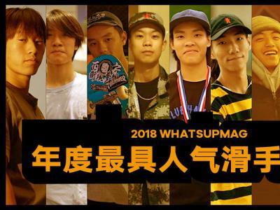 2018中国年度最具人气滑手征集开始!