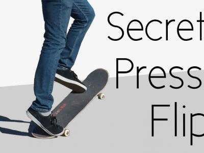 超实用滑板动作教学:Pressure Flips的秘诀