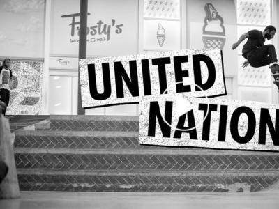 Zero |全军出击,一起作客Berrics板场「United Nations」