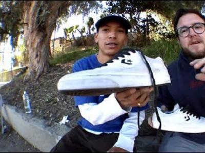 CCS滑板鞋测试!用Louie Lopez首双签名款做100个kickflip