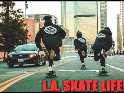 都9102年了,你还不了解Lius Mora在L.A的滑板生活?